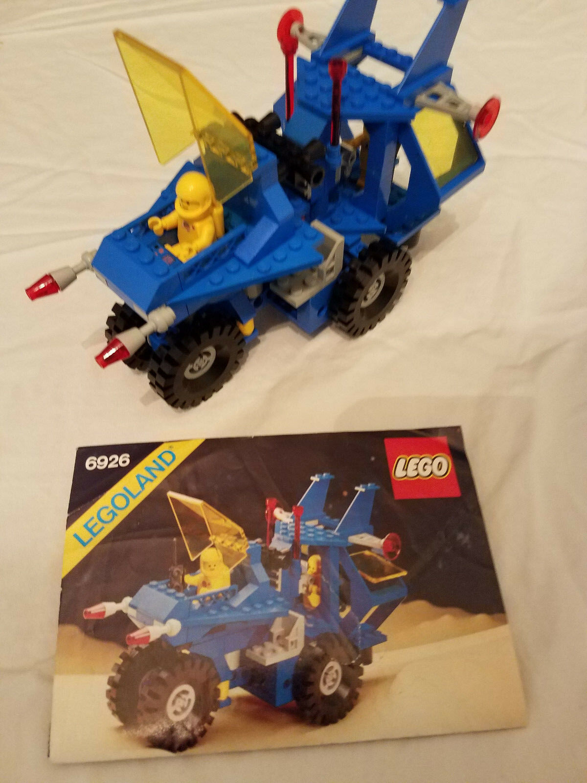 Vintage Lego Space Set   6926 Mobile Recovery Vehicle w/ minifigs  100% Complete