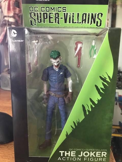 The Joker DC Comics Super Villains New 52 7  Action Figure