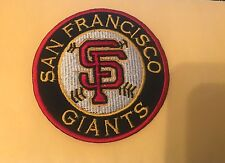 """SAN FRANCISCO SF GIANTS BASEBALL PATCH 3.75"""" IRON ON OR SEW ON"""