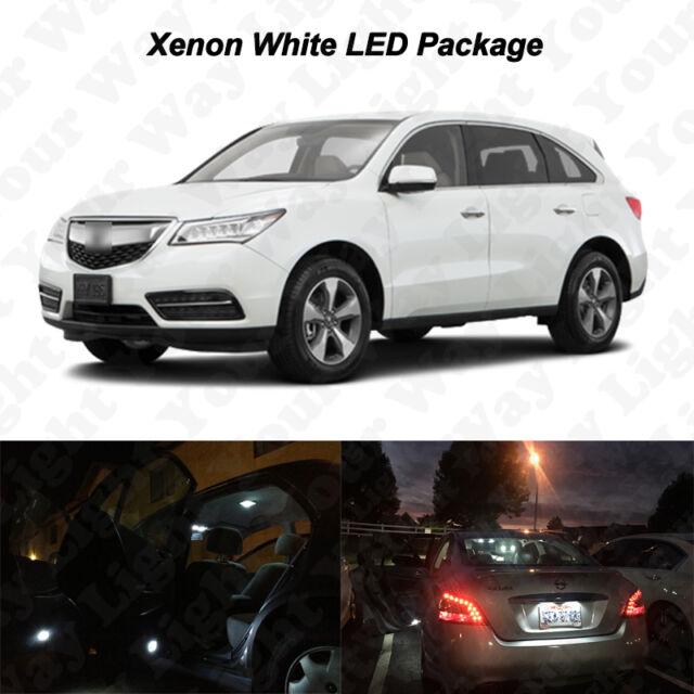 14 X White SMD LED Interior Light Bulbs Package Kit For