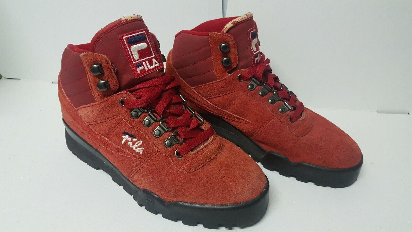 Купить Vintage fila red shoes boots