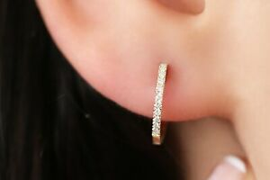 Diamanten-Creolen-Ohrringe-22-Brillanten-0-11-Carat-585er-14-K-Weissgold-Gold