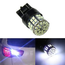 1 peice White T20 7443 W21/5W 1206 50SMD Car Tail Turn Braket Parking lamp U87