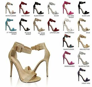 Delicious-Canter-Women-039-s-Open-Toe-Ankle-Strap-Stiletto-Heel-Dress-Sandals