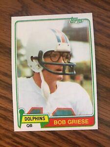 1981-Topps-482-Bob-Griese-Miami-Dolphins-NrMt