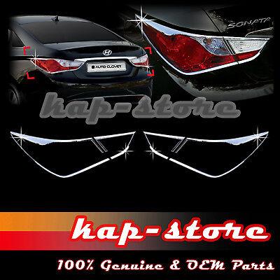 For Hyundai Sonata 2011-2014 Rear Bumper Fog Light Cover Trim Bezel