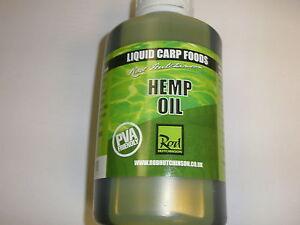 Rod-Hutchinson-Hemp-Oil-Liquid-Carp-Food-500ml-Fishing-tackle