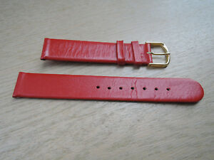 Leder-Uhrenarmband-rot-16mm-b510