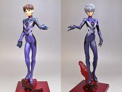 Evangelion PM Figures Unit-13 Pirots Shinji Ikari /& Kaworu Nagisa completed set