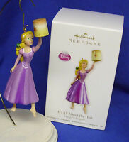 Hallmark Ornament Disney's Tangled Rapunzel It's All About The Hair 2012