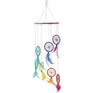 Arc-En-Ciel-Multicolore-Dream-Attrapeur-Orgueil-Moderne-Mobile-Modele-pour-L-Lit