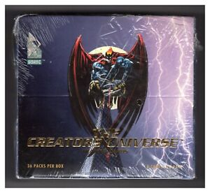 1993-Dynamic-The-Creators-Universe-Trading-Card-Box-of-36-Packs-NEW-and-SEALED