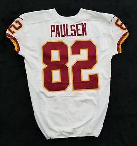 82-Logan-Paulsen-of-Redskins-NFL-Locker-Room-Game-Issued-Player-Worn-Jersey