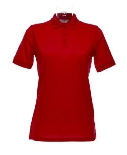 Femmes Piqué Polo Superwash 60 ° C Taille XXS-XXL adapté au Sèche Linge 18 Couleurs k703