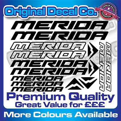 Premium Quality SRAM Bike Decals Stickers mountain bike frame bmx mtb