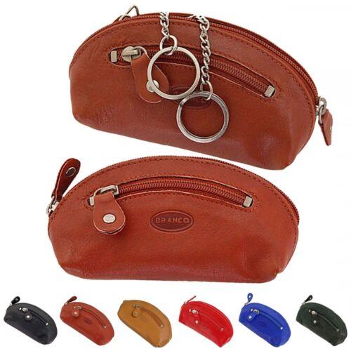 Branco Schlüsseltasche Leder Schlüsseletui Schlüsselmappe Schlüssel Etui 026 neu