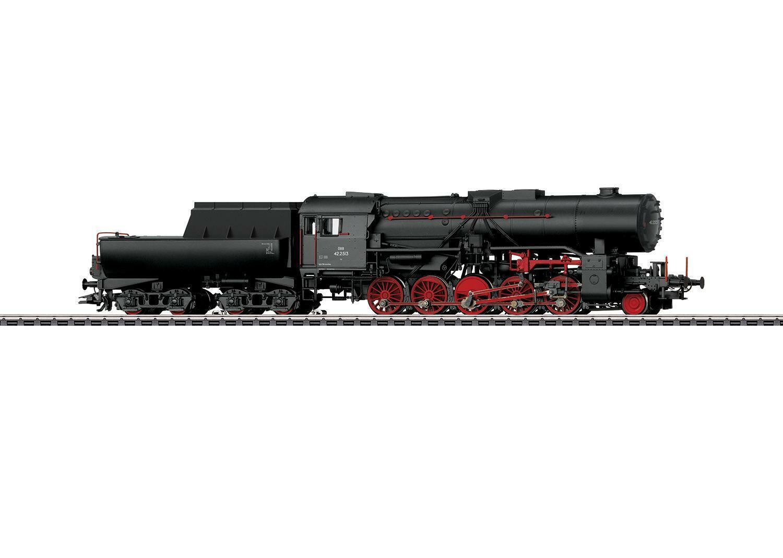 Märklin h0 39045 locomotora a vapor br 42 de la con ÖBB wannentender