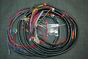 harley shovelhead wiring harness flh 1970 72 ebay rh ebay co uk shovelhead wiring harness diagram 1976 shovelhead wiring harness