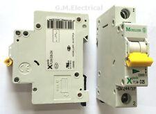 EATON MOELLER 25 AMP TYPE D 25A MCB / BREAKER MEMSHIELD 3 XPOLE EMDH125 / EAD25D