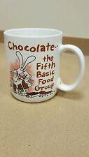 Chocolate the fifth basic food group Coffee Mug Rabbit candy ice cream B11