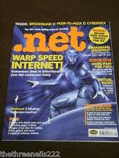 .NET MAGAZINE # 92 - WARP SPEED INTERNET - JAN 2002