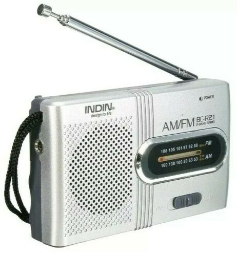 *BEST DEAL Mini AM//FM Radio Emergency Hiking Camping Bug Out SHTF Compact Pocket