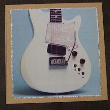 "POP-KARD feat. ,HEARTFIELD GUITAR - DETAIL, 6x6"" greeting card aag"