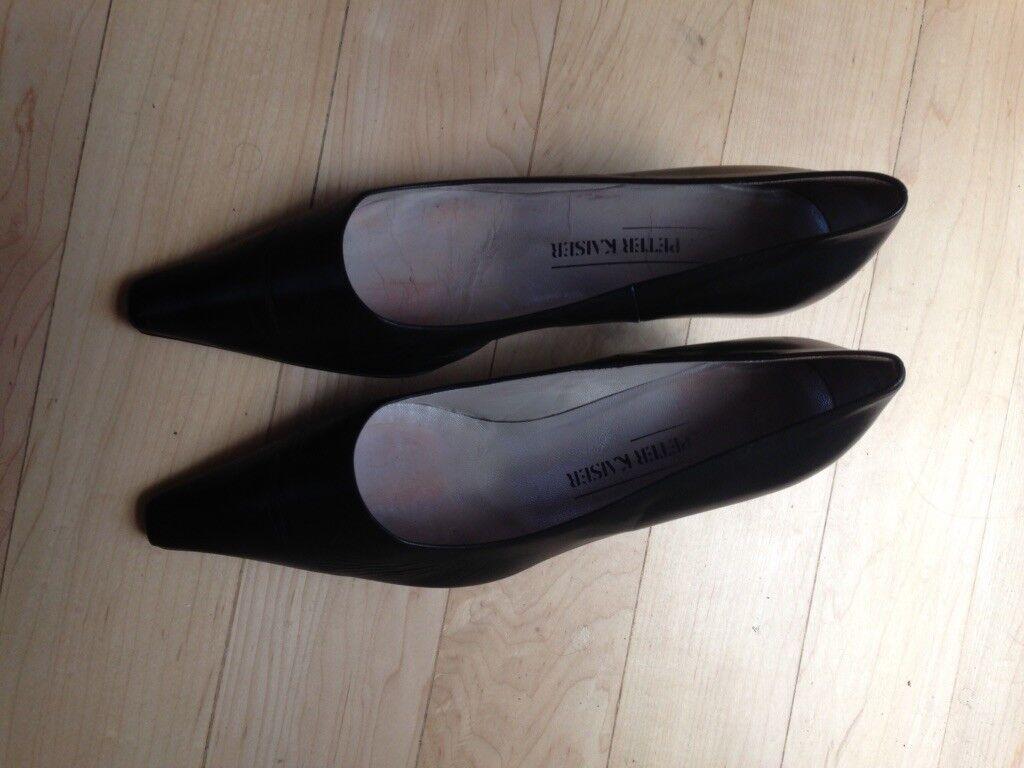 Peter Kaiser Dark bleu medium Heels - Taille 6 feels like 7