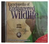 Encyclopedia Of Endangered Wildlife (win/mac) Brand Sealed - Free U.s. Ship