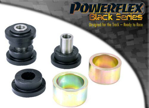 PFR5-411BLK Powerflex Rear Upper Control Arm To Chassis Bushes BLACK 2 in Box