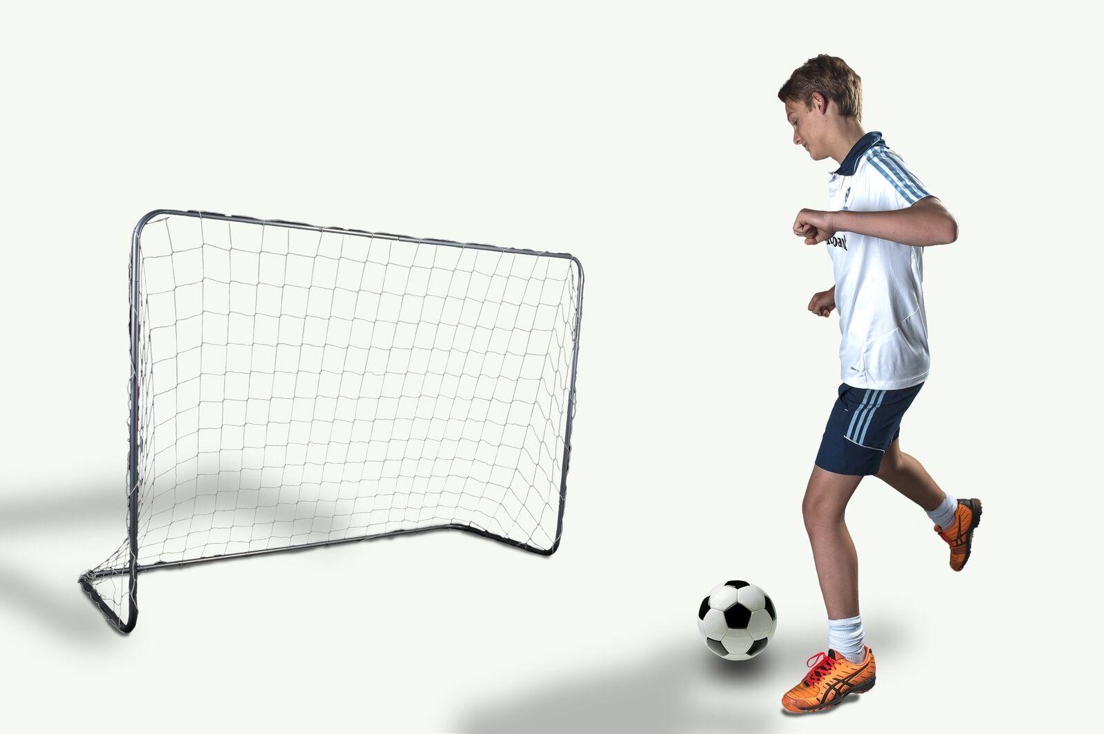 Charlsten Fussballtor 180x120x60 180x120x60 180x120x60 cm groß ed80d3