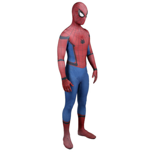 2020 Homecoming Spider-Man Bodysuit Spiderman Cosplay Costume For Adult /& Kids