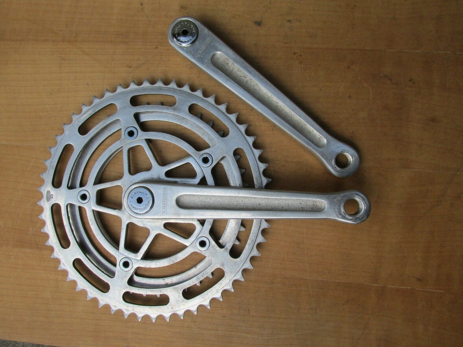STRONGLIGHT 105 bis PEDALIER VELO COURSE ROAD RACING Fahrrad CRANKSET 170 42 52