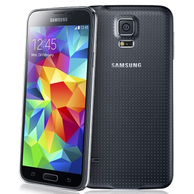 Unlocked !! Samsung Galaxy S5 SM-G900V 4G LTE Mobile Phone - 16MP 16GB - Black