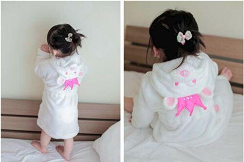 3D Cartoon Animal Toddler/'s  Nightgown Unisex Kids Pajamas Boys Girls Bathrobes