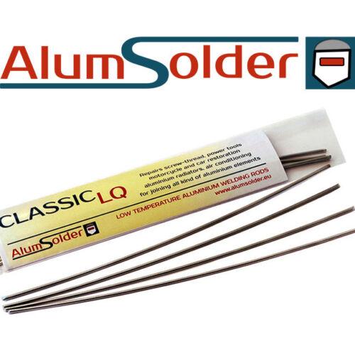 4 Aluminium repair rods welding AlumSolder Classic LQ brazing USE GAS TORCH