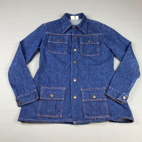 Vintage Maverick Women's Chore Denim Jacket Size M