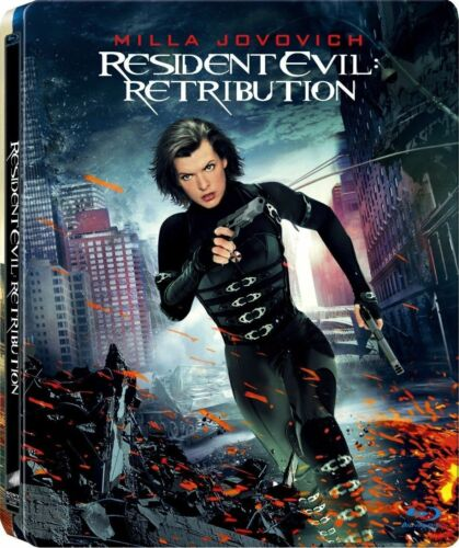 1 of 1 - Resident Evil - Retribution blu ray Steelbook  ( NEW )