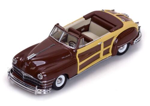 1:43 la cast 1947 Chrysler Town /& Country vitesse costa rica marrón 36220
