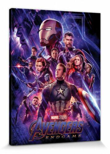 Avengers-Endgame Journey/'s End Poster Canvas Print #125106 80x60cm