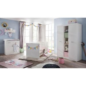 Babyzimmer möbel  Babyzimmer Möbel Wickelkommode Wickeltisch Babybett Bett ...