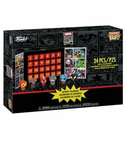 Funko-Marvel-Pocket-Pop-Advent-Calendar-With-24-Pop-Figures-Iron-Man-Captain