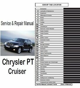 2005 chrysler pt cruiser convertible owner's manual pdf (360.
