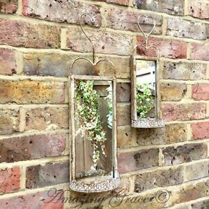 Image Is Loading Set 2 Antique French Vintage Style Metal Garden
