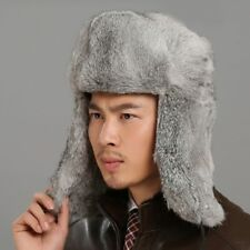 12f539bf0f5 item 2 Russian Trapper Hat for Men Real Rabbit Fur Winter Outdoor Leather  Bomber Cap -Russian Trapper Hat for Men Real Rabbit Fur Winter Outdoor  Leather ...