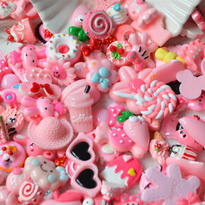 10x-Pink-Blessing-bag-Squishy-Charms-Squeeze-Slow-Rising-Toy-Collection-Gift