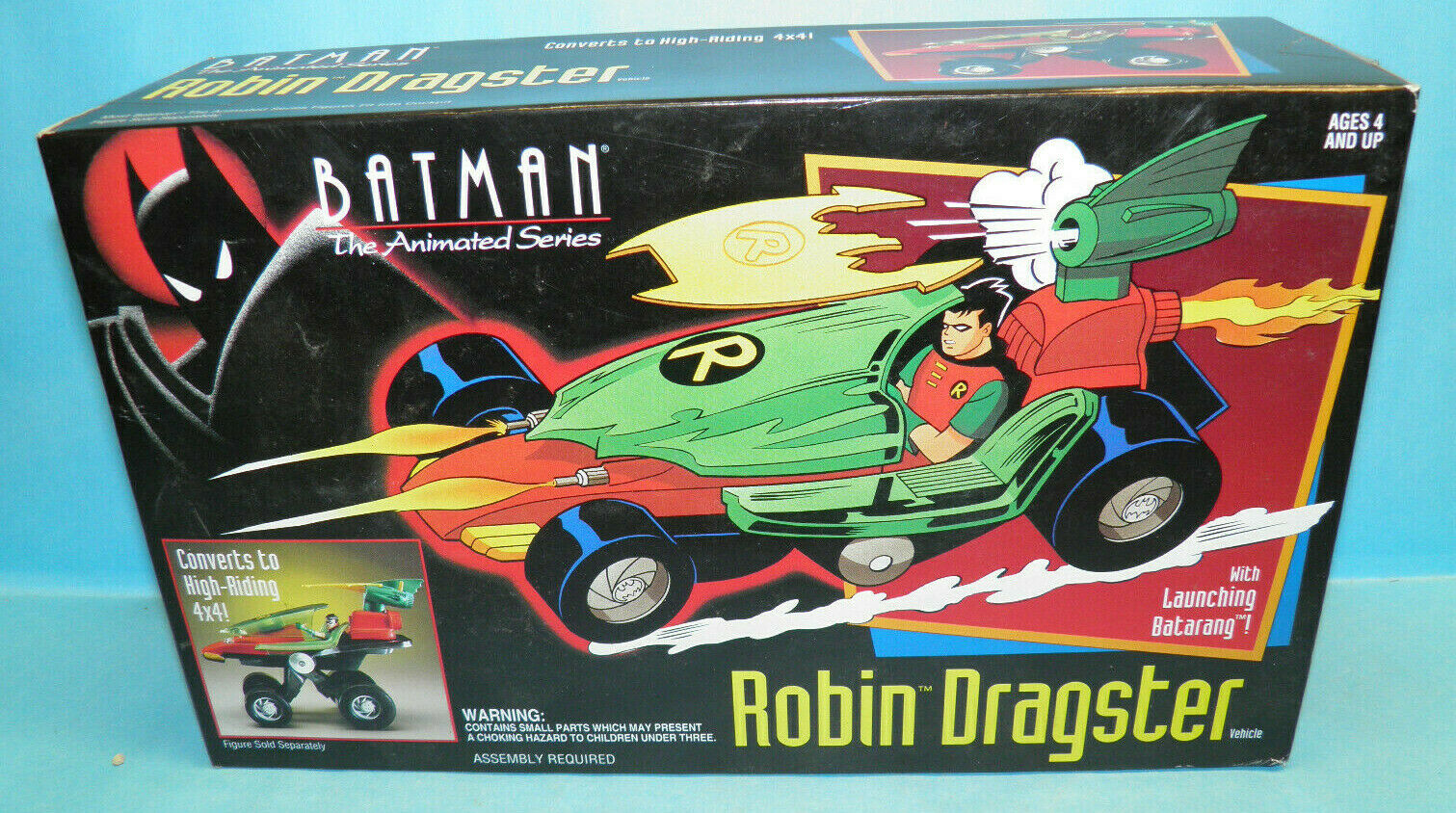Kenner Batman The Animated Series Robin Dragster Vehicle
