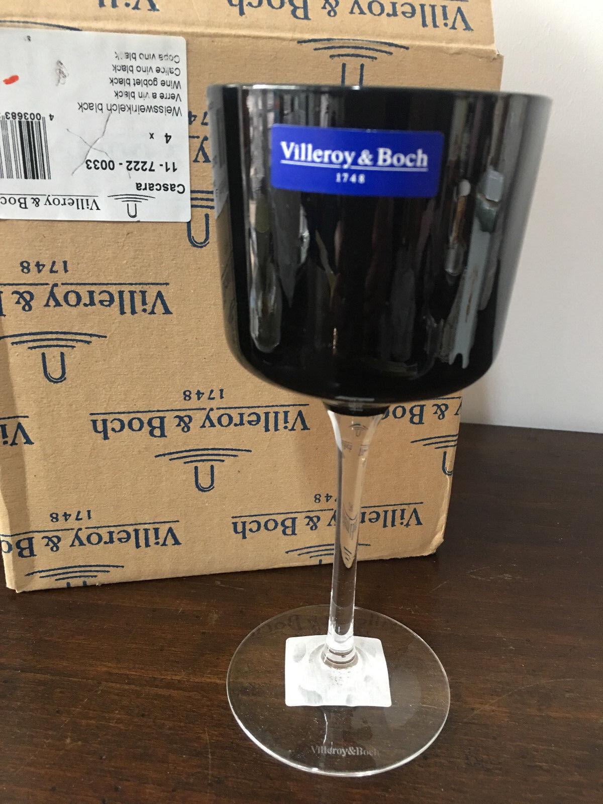 Villeroy & Boch set 4 calici vino cascara