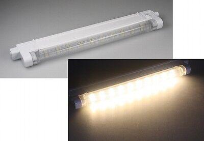 SMD Led Unterbauleuchte WARMWEIß 27cm, 140 Lumen, 10 warmweiße SMDs Lichtleiste