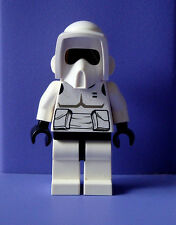 BRAND NEW LEGO SCOUT TROOPER STAR WARS MINIFIG,  MINIFIGURE, FREE US SHIPPING